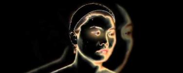 """Screenshot aus der Videoarbeit """"Faces"""" von Simone Wedel"""