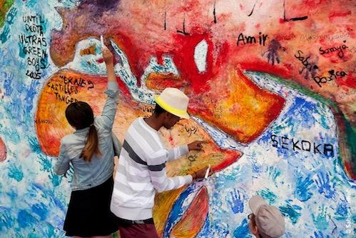 Nationen der Welt Performance Farben des Lebens 2017