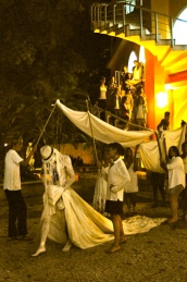 2013 Solo Performance Metamorfoses Goethe Institut Salvador da Bahia BR Choreograpfie und Konzept Frank Haendeler