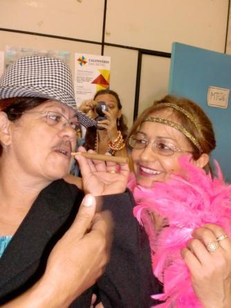 2011 Gender-Projekt Weiterbildung für Lehrer*innen über 40 Jahren an der Universität Feira de Santana (Brasilien) - künstlerischer Leiter : Frank Händeler