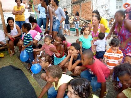 2011-2013 Community Projekt Casa Matria in Salvador BR