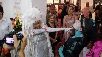 2009 Performance Auftrag zur 50 Jahr Feier des Goetheinstituts in Salvador Bahia Brasilien Konzept und Performance Frank Haendeler