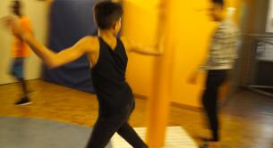 Tanz-Theater-Projekt für jugendliche Geflüchtete - mit den AWO Valentin Sengerhaus - ÜberBrücken, Frankfurt am Main