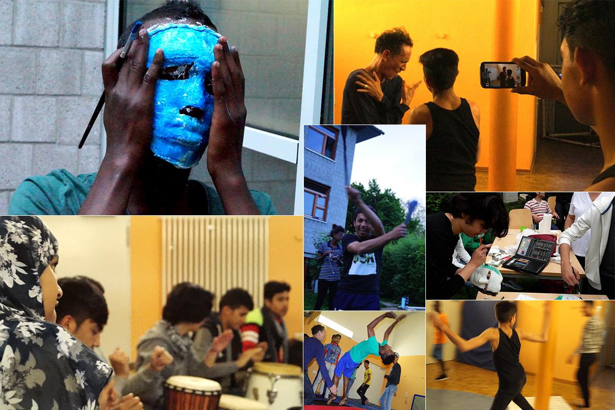 Informationen zum Tanz-Theater-Projekt im AWO Valentin Sengerhaus
