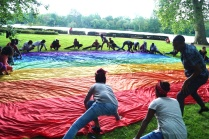 2016 Abenteuer Sommerferien - flag all exercise ground- K Manheshkarimy