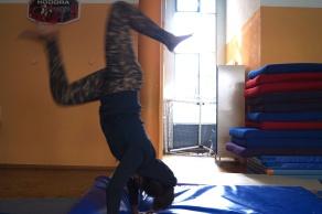 Mädchenworkshop AkrobatikPROJEKT Wir sind die Welt von Jetzt