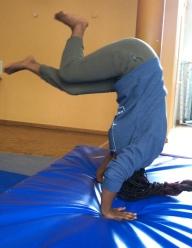 Mädechenworkshop Akrobatik