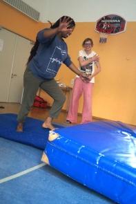 Mädchenworkshop Akrobatik